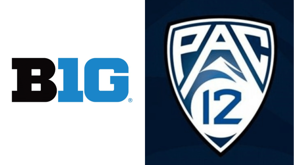 Big Ten and Pac-12