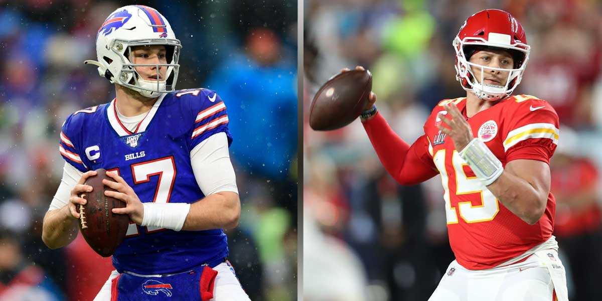 Josh Allen vs. Patrick Mahomes Throw-Off