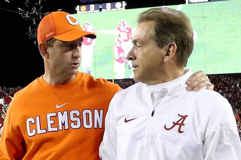 Dabo Swinney or Nick Saban