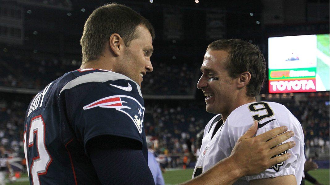 Drew Brees vs. Tom Brady