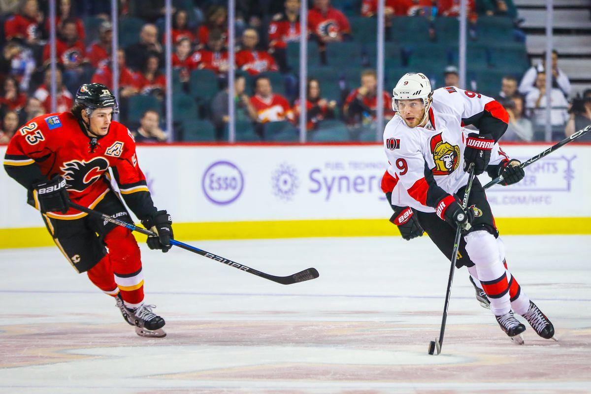 Ottawa Senators vs. Calgary Flames