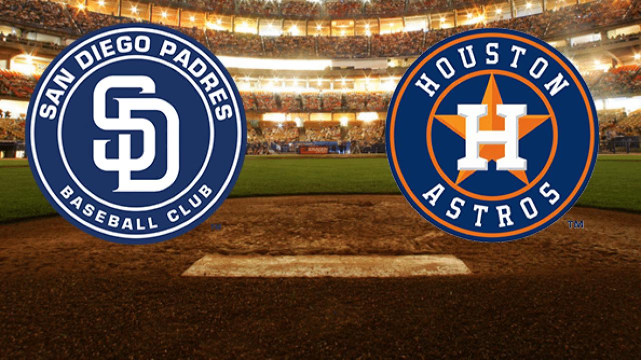 Padres vs Astros