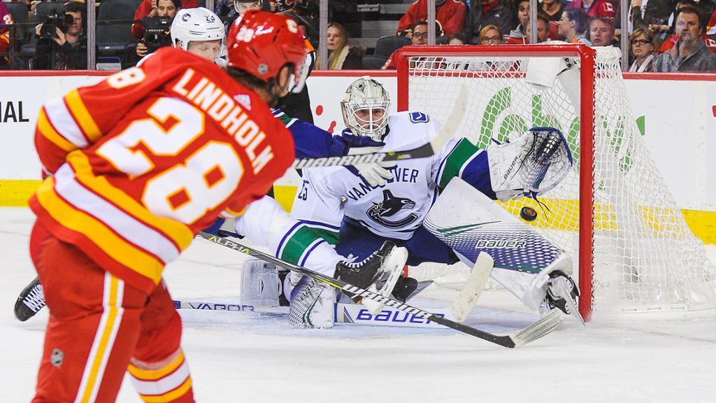 Vancouver Canucks vs. Calgary Flames