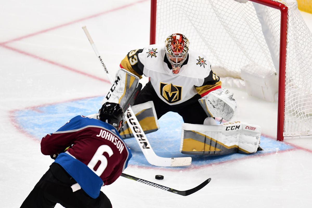 Avalanche at Golden Knights