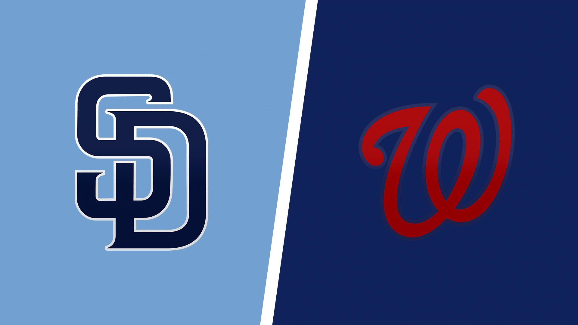 Padres vs. Nationals